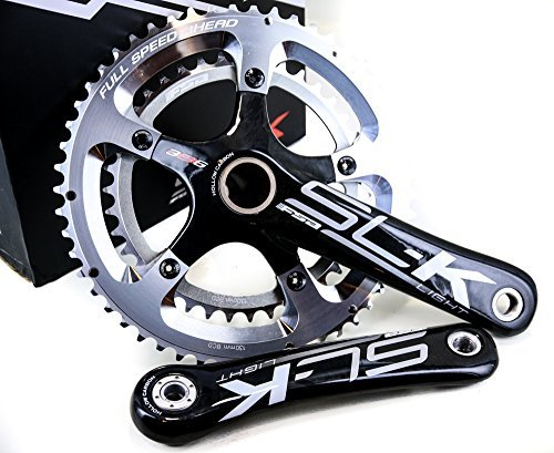 FSA SL-K 386Evo 39/53 11-Speed Road Bicycle Crankset - 336-042 (White Logo - SL-K 386Evo 39/53 170) [並行輸入品]   B075K5RVCM