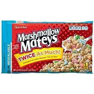 Malt-O-Meal Marshmallow Mateys Cereal 23 Oz