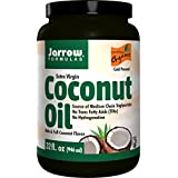 Jarrow Formulas Coconut Oil 100% Organic Extra Virgin, Supports Cardiovascular Health, 32 fl. Oz.