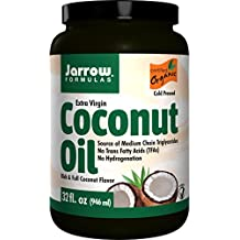 Jarrow Formulas Coconut Oil 100% Organic Extra Virgin, Supports Cardiovascular Health, 32 fl. Oz.