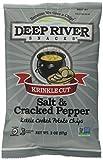 deep river kettle chips - Deep River Snacks Salt and Pepper Kettle Chips, 24 Count