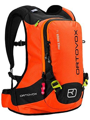 Ortovox Lawinenrucksack Free Rider, Crazy Orange, 42 x 27 x 20 cm, 16 L, 4675200003
