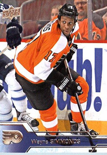 2016-17 Upper Deck Series 1 #141 Wayne Simmonds Philadelphia Flyers Hockey Card