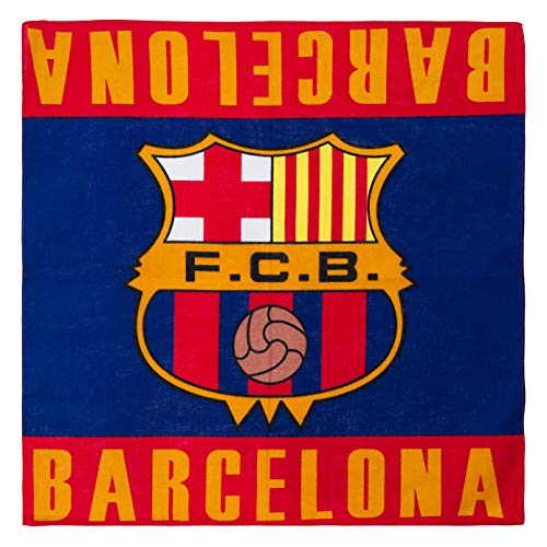 SOCCER MERCHANDISE Barcelona Football Club Bandana Soccer Fcb F.c.b. New
