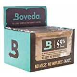 Boveda (Formerly Humidipak) 49% RH Humidity Control for Guitars, Large 70 gram size, 12-pack