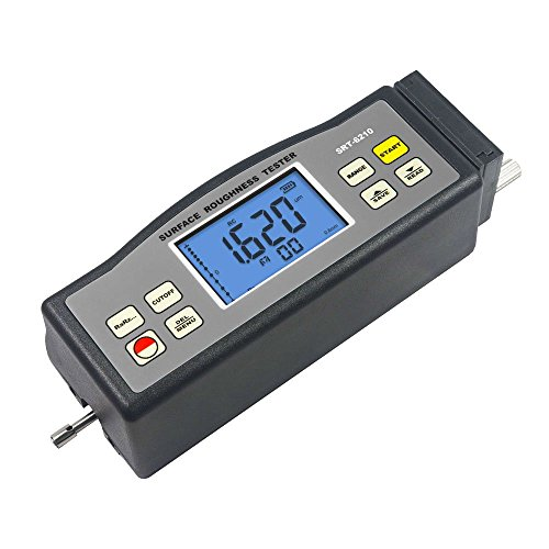 SRT-6210 Digital Surface Roughness Tester Profile Gauge Surftest Profilometer Ra Rz Rq Rt (232 Rs Tester)