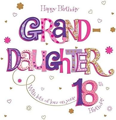 Ling Design - Tarjeta de felicitación de 18 cumpleaños para ...