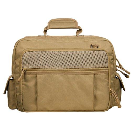 Akmax Military Messager Bag Tactical Shoulder Bag (Khaki)