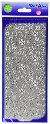 - Elizabeth Craft Designs Snowflakes Small Peel Off Stickers 4