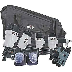 Iron Horse 4-Piece Nail Gun Kit