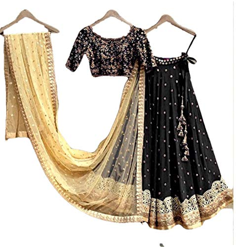 REKHA Ethinc Shop Latest Bridal Indian Designer Lehenga Choli Dupatta A379
