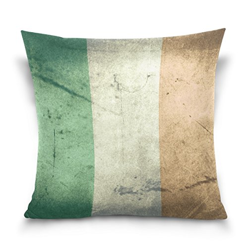 grunge flag ireland velvet plush