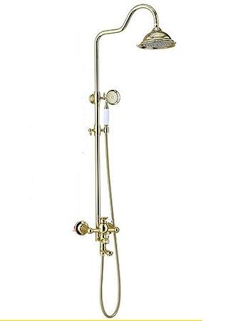 Arayacy Gold Plated Dusche Sethand Europäischen Kupfer Dusche Set