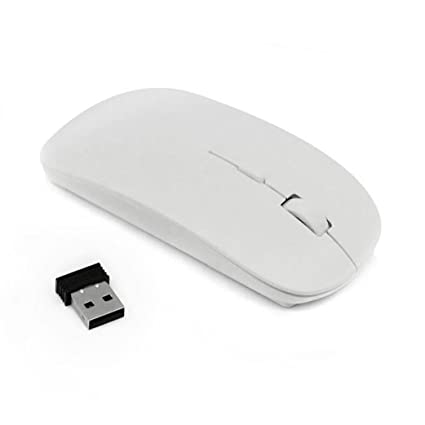 1a704911b18 Image Unavailable. Image not available for. Color: GBSELL Slim 2.4 GHz  Optical Wireless Mouse Mice with USB Receiver For Laptop PC Macbook