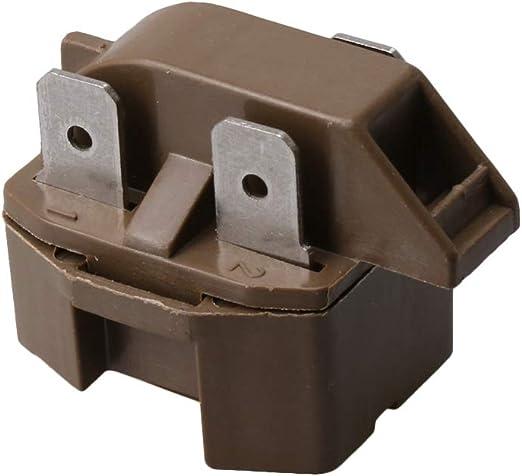 Yibuy 2262185 Compresor de congelador PTC Start Relay Reemplazo ...