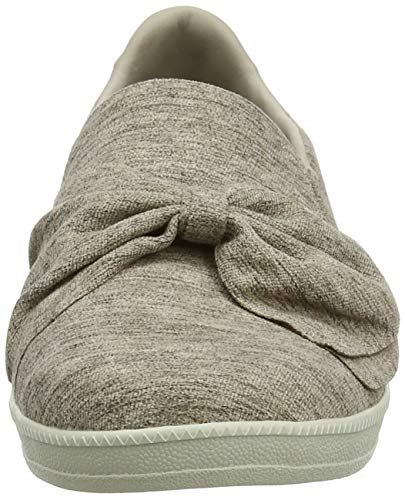 Beige Ave taupe Enfiler Skechers Baskets Tpe My Femme Madison Town 08qx7R8