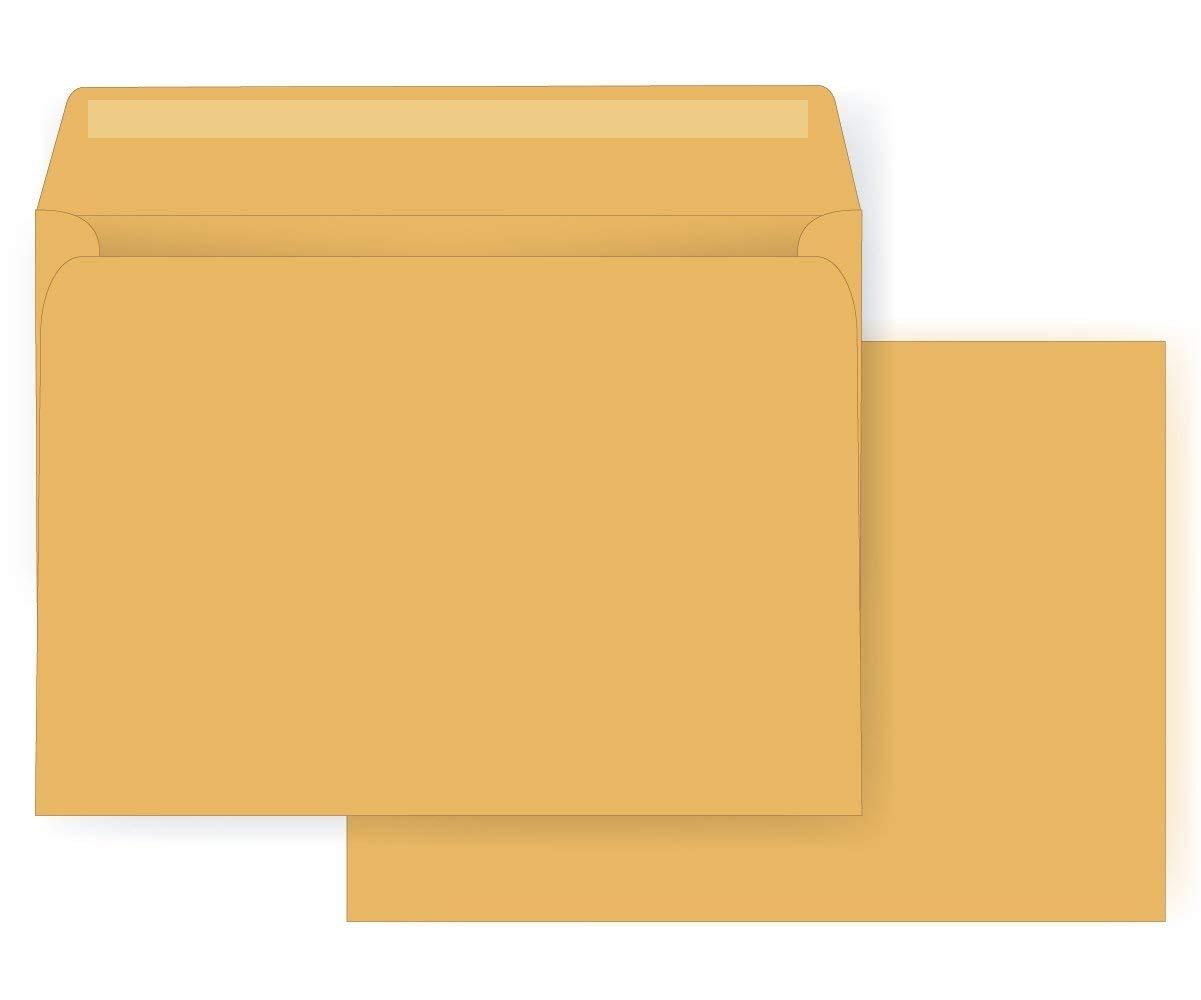 Amazon com : 9 x 12 Booklet Envelope - Open Side - 28# Brown