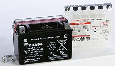 Yuasa Maintenance Free Battery YTX9-BS YUAM329BS (PLT-144)
