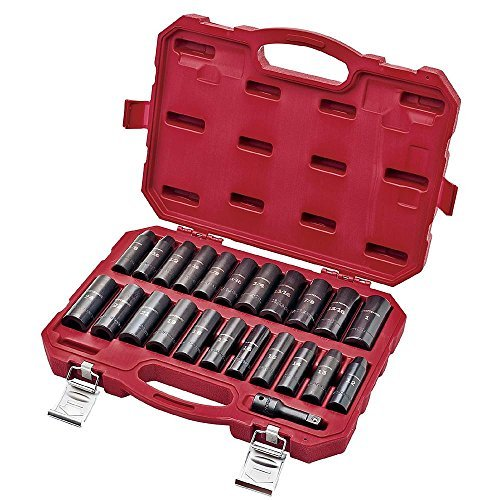Craftsman 23-Piece Laser Impact Deep Socket Accessory Set, 1/2 Drive, 9-16970