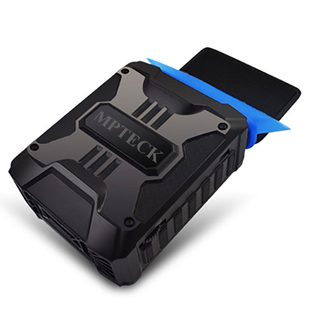 MPTECK @ Refrigerador Portátil Ordenador Portátil Aspiradora de Aire Del Refrigerador refrigerador de la CPU Ventilador Extractor hasta 3800 RPM para Notebook y Ordenador Portátil mondpalast cool