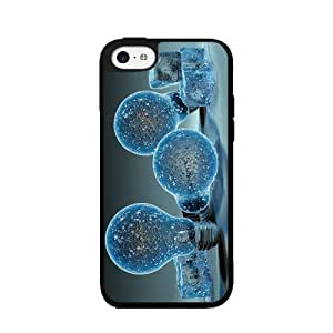 Cool Ice Bulbs - 2-piece Dual Layer High Impact Phone Case Back Cover (iPhone 5/5s)