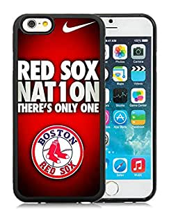 iPhone 6 Case,Boston Red Sox Black For iPhone 6(4.7) Case