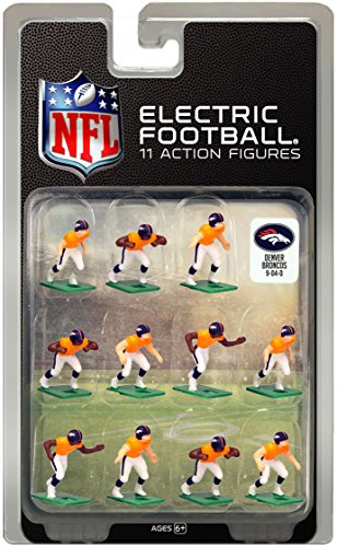 Denver Broncos Dark Uniform NFL Action Figure Set