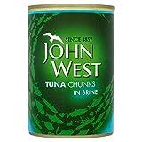 John West Tuna Chunks in Brine (400g)