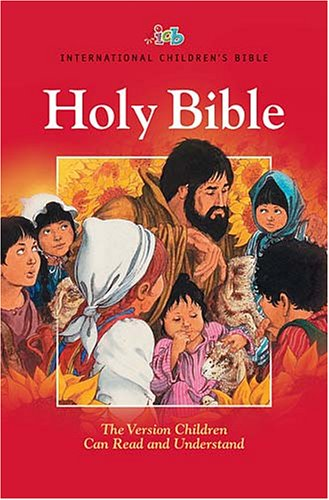 Holy Bible: International Children's Bible, Foil Edged