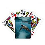 Ocean Sea Turtle Science Nature Poker Playing Card Tabletop Board Game Gift