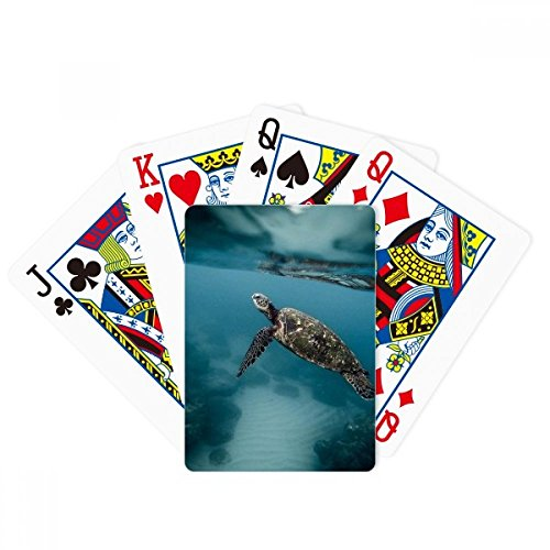 Ocean Sea Turtle Science Nature Poker Playing Card Tabletop Board Game Gift by beatChong