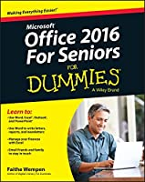 Office 2016 For Seniors For Dummies Front Cover