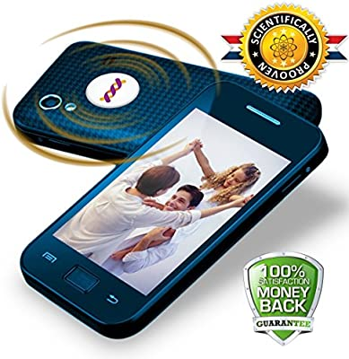 EMF Protection Cell Phone, 3 GOLD & SILVER AWARDS, Proven Anti Radiation Protector Shield - Best EMR Blocker, Neutralizer Ondeom Patch, all Mobile Phones, Computers Laptop Tablet, Necklace pendant