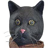 Big Mouth Toys Black Jack The Cat Mask