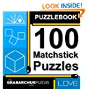 Puzzlebook: 100 Matchstick Puzzles (hands-on and interactive!)