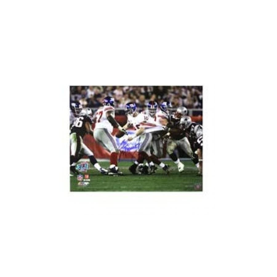 Signed Eli Manning Picture Iconic Super Bowl XLII 16x20 Steiner Autographed NFL Photos