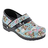 Sanita Women's Koi Dulce Clog, Light Blue, 39 M EU (8-8.5 US)