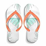 Eric Carl Men's Easy Thong Flip Flop Sandal|Men's Flip Flops Beach Slippers