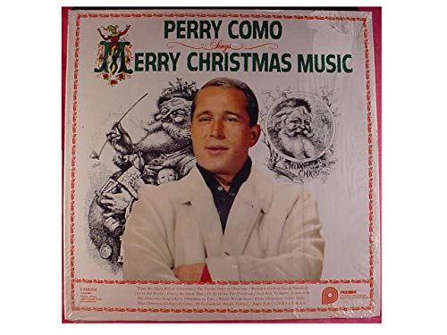 Perry Como Sings Merry Christmas Music LP - Pickwick Records 1961 - IMPORTED - Near Mint - In Shrink Wrap - RARE Only One Of Amazon!