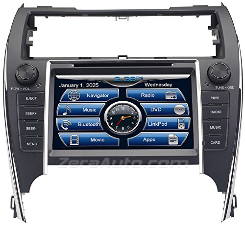 gps tracking systems zera 2012 13 14 toyota camry in dash gps navigation stereo dvd cd player. Black Bedroom Furniture Sets. Home Design Ideas