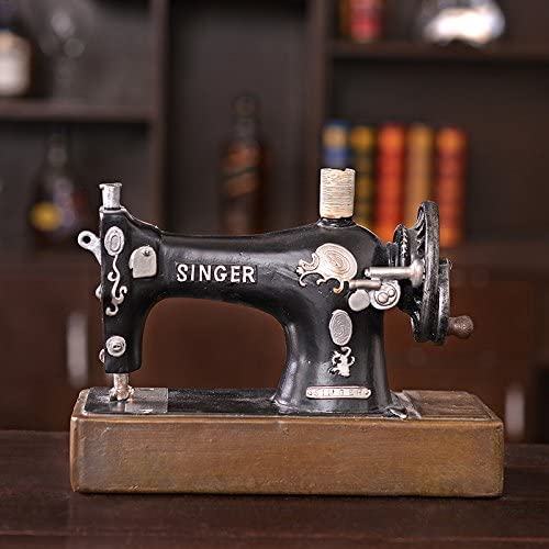 Adornos creatividad ventana máquina de coser restaurante cafetería ...