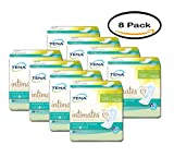 PACK OF 8 - TENA Incontinence Pads for Women, Moderate, Regular, 20 Count
