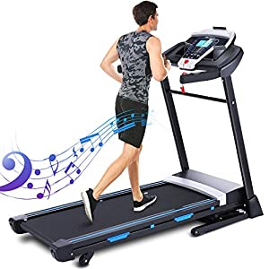 Well-Being-Matters 51W2QZv2JSL._SS300_ ANCHEER Folding Treadmill, 3.25HP Automatic Incline Treadmill, Walking Running Jogging Running Machine for Home Gym…
