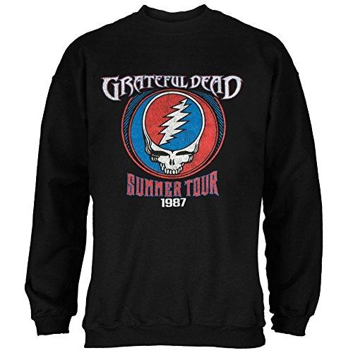 Grateful Dead - Steal Your Face Summer Tour 1987 Adult Sweatshirt - (Grateful Dead Athletic T-shirt)