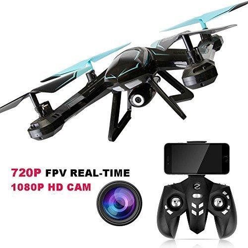 Rabing RC Quadcopter Flight Path FPV VR WiFi RC Drone 2.4GHz 6-Axis Gyro Remote Control Drone HD 2MP Camera Drone