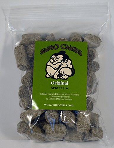 Sumo Cakes Original Organic Bonsai Fertilizer