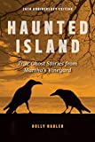 Front cover for the book Haunted Island by Holly Nadler