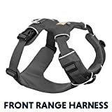 RUFFWEAR - Front Range, Everyday No Pull Dog Harness with Front Clip, Trail Running, Walking, Hiking, All-Day Wear, Twilight Gray (2017), Large/X-Large