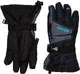 Gordini Junior Ultra Dri-Max Gauntlet Gloves Black Dark Grey Teal M