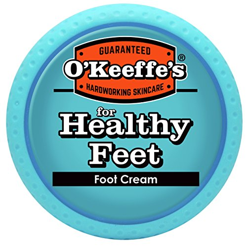 O'Keeffe's K0320001-4 Healthy Feet Foot Cream in Jar (4 Pack), 3.2 oz